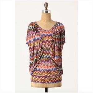 The Podolls Anthropologie The Two Rivers Tee